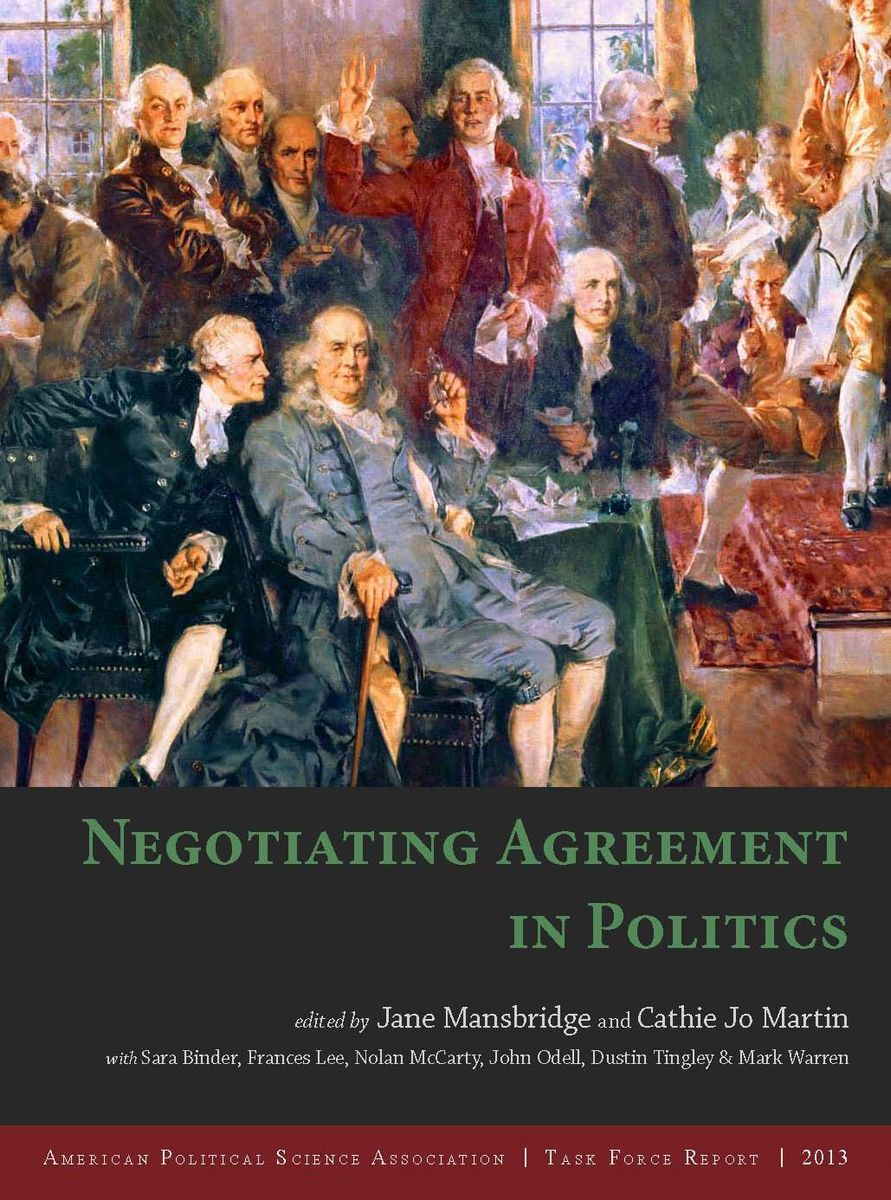 Negotiating Agreement in Politics Cover