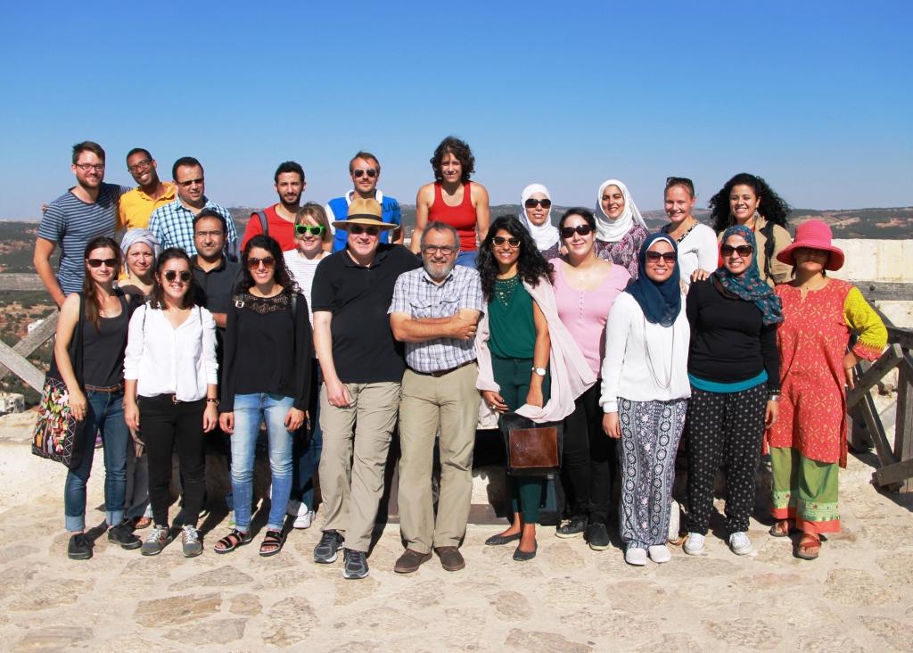 Leaders and participants of APSA's 2016 MENA Workshop in Amman, Jordan