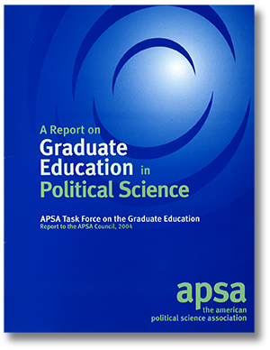Graduate Education in Political Science